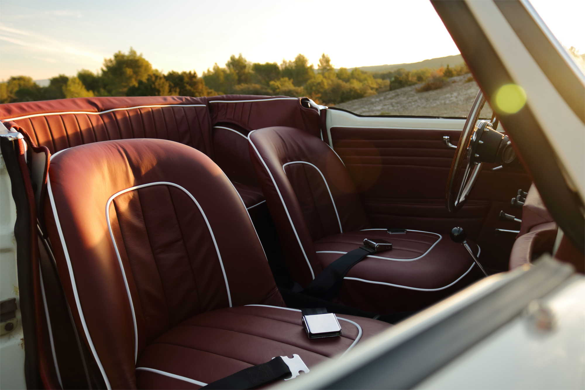 Triumph Tr4 Classic Car Rental Provence