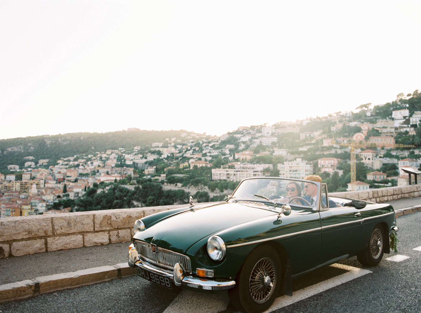 A photo of one of the cars available for Films, Photography and Commercial use at Provence Classics, who offer Classic Car Rental in the south of France.